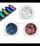Chameleon Glitter Powder - Metallic flakes